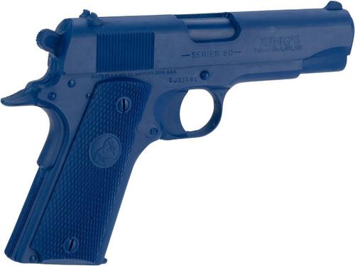 Rings Manufacturing Blue Guns Inert Polymer Training Pistol - Colt 1911 Commander
