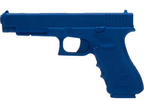 Rings Manufacturing Blue Guns Inert Polymer Training Pistol - GLOCK 34