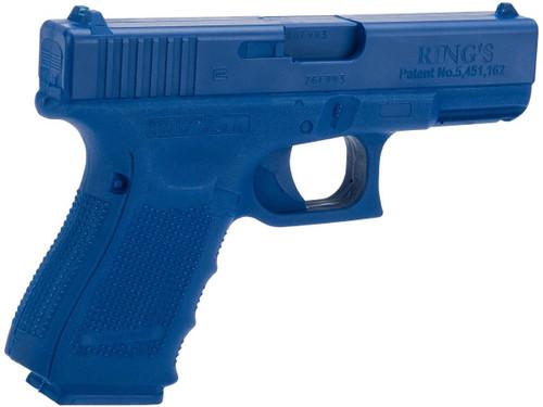 Rings Manufacturing Blue Guns Inert Polymer Training Pistol - Glock 19 /23 / 32 Gen 4