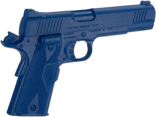 Rings Manufacturing Blue Guns Inert Polymer Training Pistol - Kimber Custom Crimson Carry II Cocked