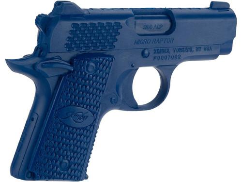 Rings Manufacturing Blue Guns Inert Polymer Training Pistol - Kimber Micro Raptor