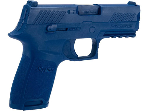 Rings Manufacturing Blue Guns Inert Polymer Training Pistol - SIG P320 Compact