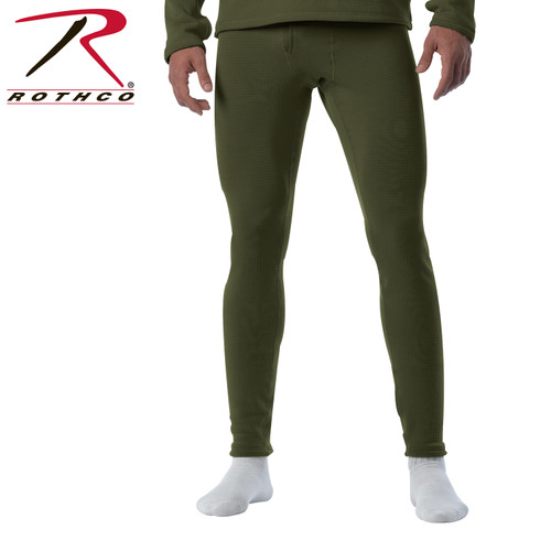 Rothco ECWCS Gen III Mid-Weight Underwear Bottoms (Level II) - Olive Drab