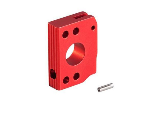 AIP Aluminum Type C Long Trigger for TM Hicapa - Red