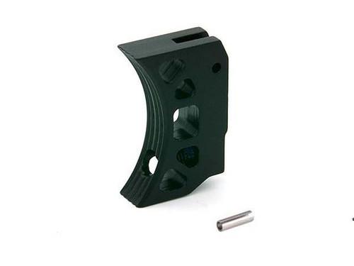 AIP Aluminum Type K Short Trigger for TM Hicapa - Black