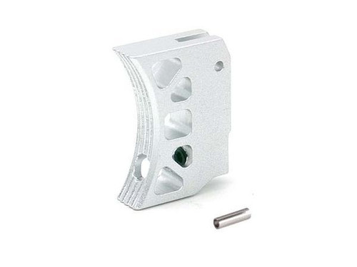 AIP Aluminum Type J Long Trigger for TM Hicapa - Silver