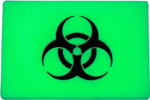 BEACON Patch Green Biohazard