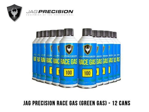 JAG Airsoft Green Gas with Silicone Oil Can - 12pcs