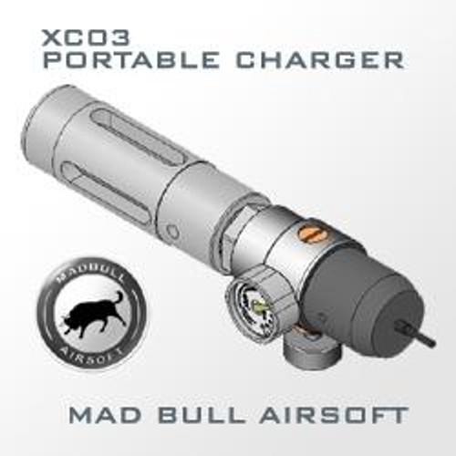 MadBull Airsoft Portable 12g C02 Charger W/ Regulator (XC03)