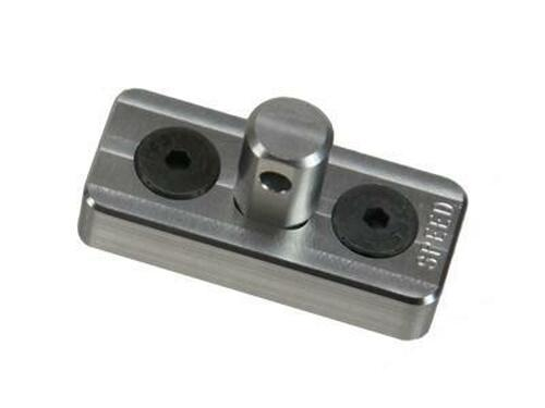 Speed Airsoft KeyMod Bipod Stud Mount Silver