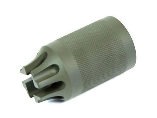 Madbull Airsoft PWS CQB Compensator/Amplifier OD