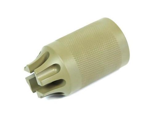 Madbull Airsoft PWS CQB Compensator/Amplifier Tan