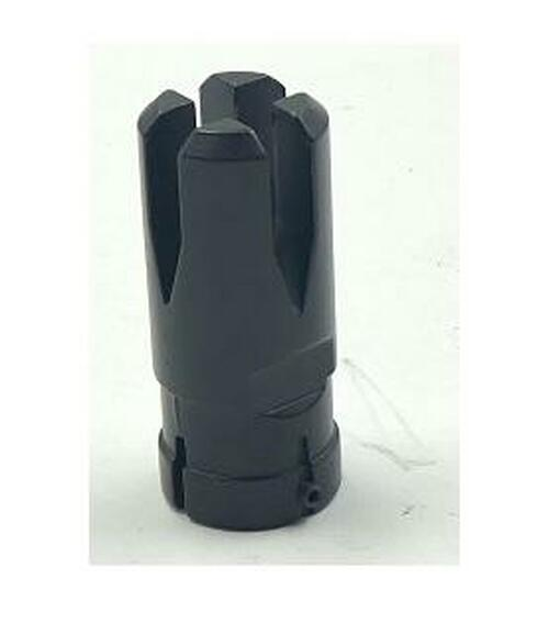 Metal 14mm Negative (CCW) Flash Hider- SMC/X36c