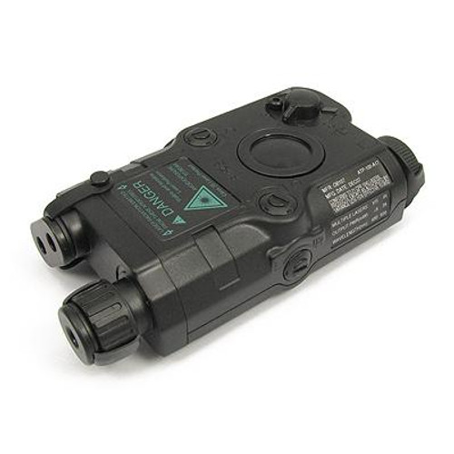 King Arms Peq-15 Style Battery Box in Black