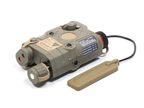 Vega Force Company PEQ15 Illuminator Aiming Module in FDE