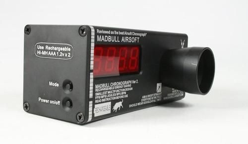Madbull Airsoft RECHARGABLE Chronograph Version 2