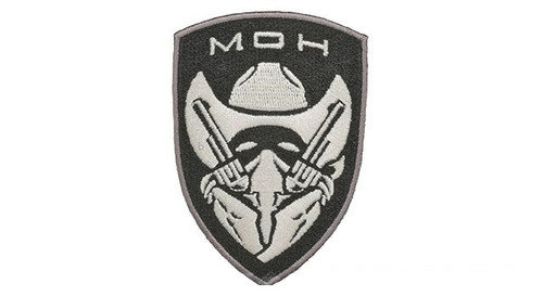 Embroidered Tactical Hook & Loop Patch - Cowboy SWAT