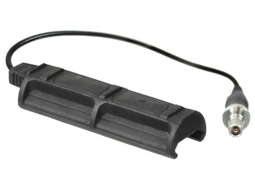 Bravo  Airsoft Remote Dual Tape Switch 1 Plug  in Black