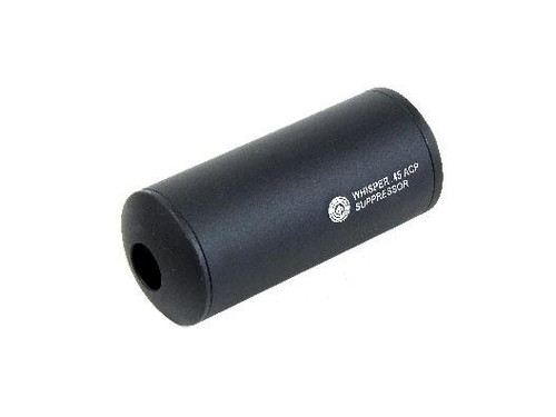 Madbull Airsoft WHISPER (CCW) Barrel Extension in Black