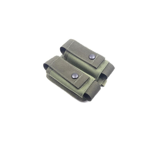 Madbull Airsoft 40mm Dual Molle Grenade Pouch MB 40 GP OD