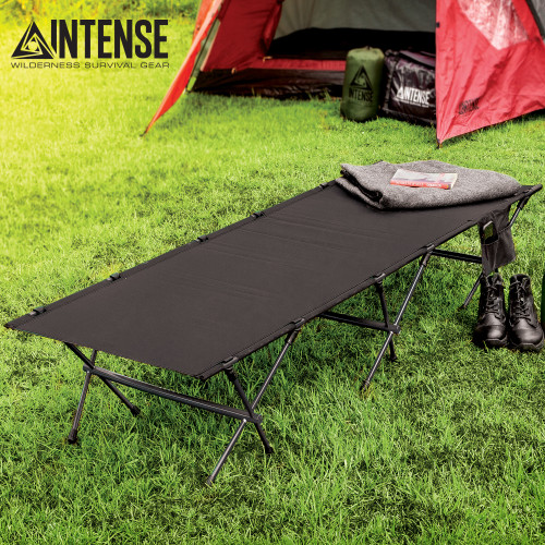 Intense Ultra-Light Portable Cot With Carry Bag