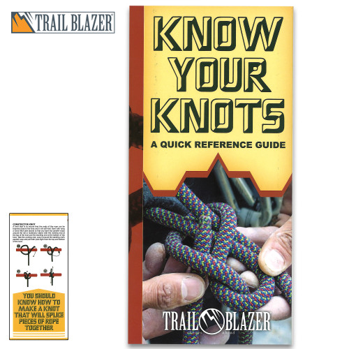 Trailblazer Know Your Knots Quick Reference Guide