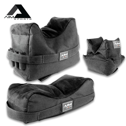AIM Front And Rear Shooting Bags - Set Of Three