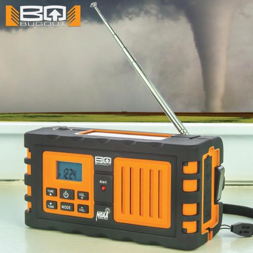 BugOut NOAA Weather Radio