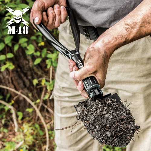 M48 Folding Entrenching Tool With Pouch