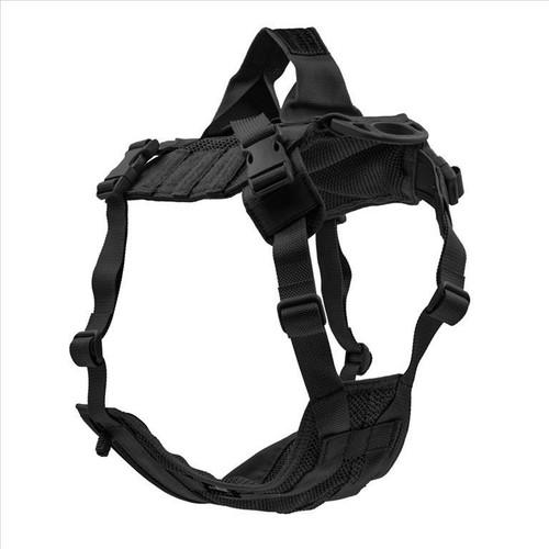 Advance Dynamic Systems EDO K9 Tactical Dog Harness Medium - Black