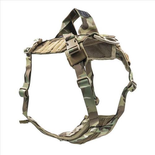 Advance Dynamic Systems EDO K9 Tactical Dog Harness Medium - Multicam