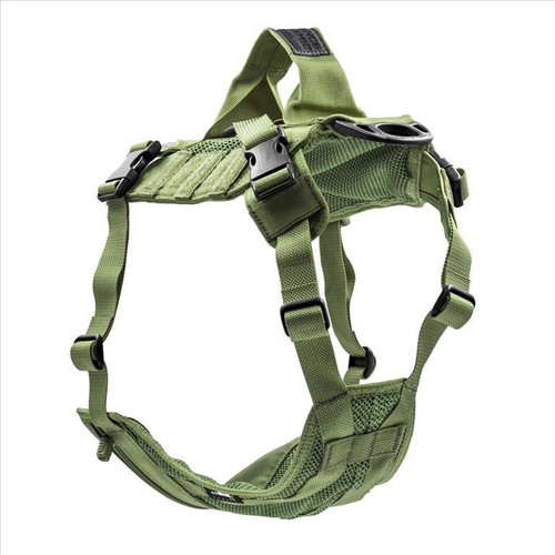 Advance Dynamic Systems EDO K9 Tactical Dog Harness Large - OD