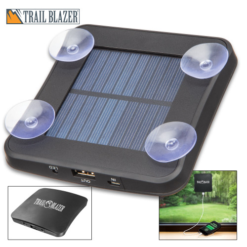 Trailblazer Portable Solar Charger And Power Bank