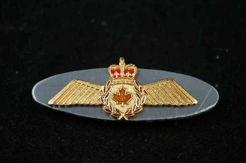 Canadian Forces RCAF Metal Pilots Wings