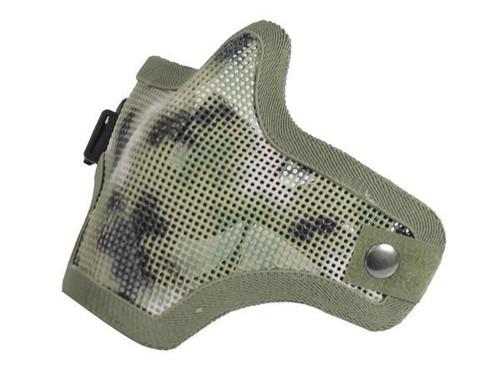Bravo Tac Gear: Strike Steel Half Face Mask - AOR2