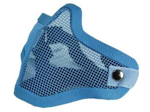 Bravo Tac Gear: Strike Steel Half Face Mask - Blue