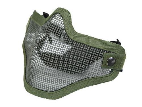 Bravo Tac Gear: Strike Steel Half Face Mask - OD