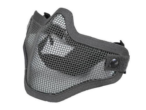 Bravo Tac Gear: Strike Steel Half Face Mask - Ranger Green