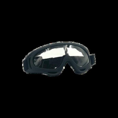 Bravo Airsoft Tactical Goggles V2 Black Frame/Smoke Lens