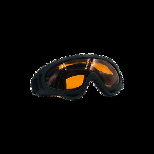 Bravo Airsoft Tactical Goggles V2 Black Frame/Orange Lens