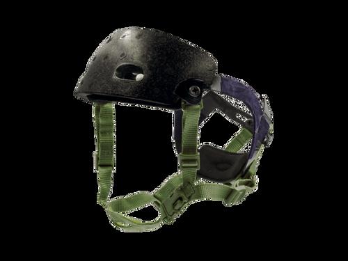 Bravo Airsoft Quick Adjustment Helmet Strap Kit OD