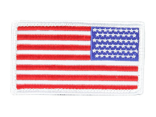 PATCH: USA Flag in Color (Arm/Reversed)