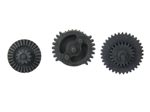Siegetek Concept Cyclone Revolution (14.55 Ratio) Gear Set For V2/3 Mechbox (Gen. 2) - 9 Tooth Dual Sector