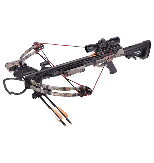 Sniper 370 Compound Crossbow Package - Camo