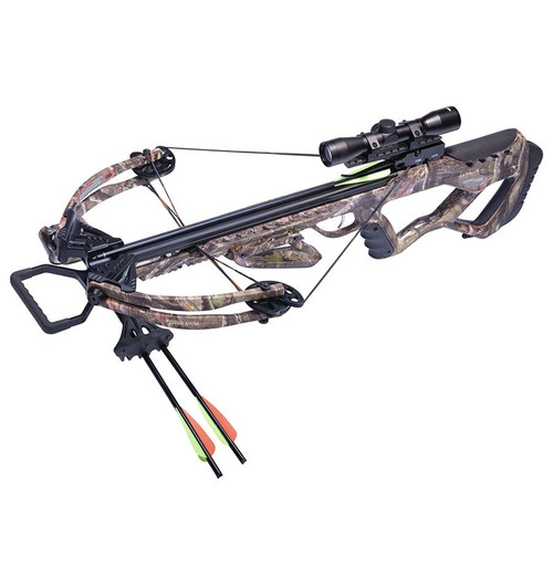 Tormentor 370 Compound Crossbow Package - Camo