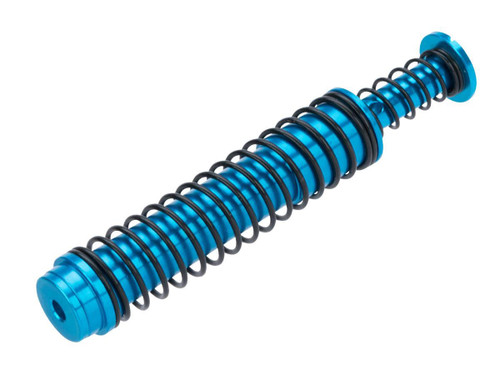 MITA Enhanced Aluminum Recoil Spring Guide for VFC GLOCK 17 Gen4 GBB Pistols (Color: Blue)