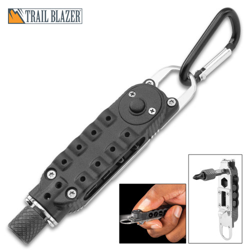 Trailblazer Torque Driver Multi-Tool With Flashlight
