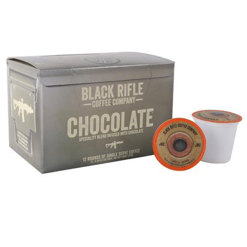 Black Riffle Coffee Company Chocolate Flavored Coffee Rounds - 12 Pack