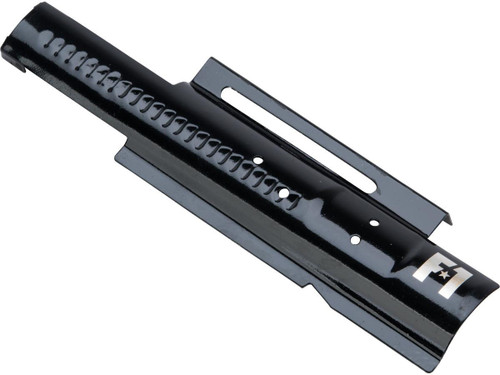 EMG F-1 Firearms Mock Bolt Plate for APS M4/M16 Airsoft AEGs (Model: Glossy Black / Standard Non-Blowback)