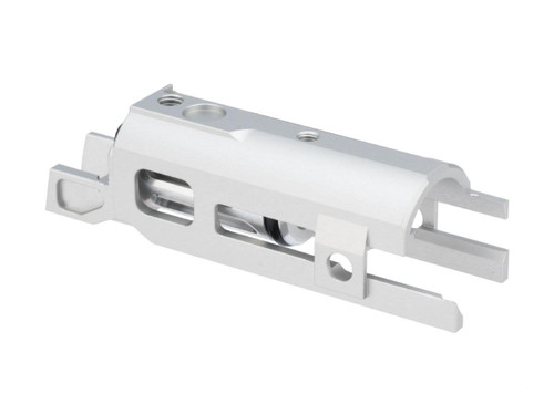 Airsoft Masterpiece EDGE Version 2 Ultra Light Aluminum Blow Back Housing for Hi-CAPA Gas Airsoft Pistols (Color: Silver)